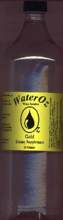 Liquid Gold Supplement - Ionic Gold Water