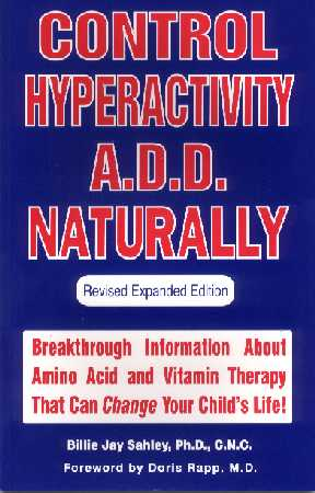 Control Hyperactivity ADD Naturally