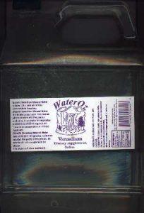 Liquid Vanadium Supplement - Ionic Vanadium Water