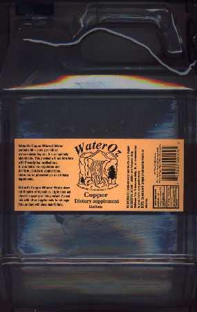 Liquid Copper Water