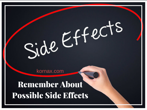 Remember About Possible Side Effects